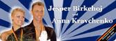 Jesper Birkehoj & Anastasiya Kravchenko, deutsche Meister in den lateinamerikanischen Tänzen